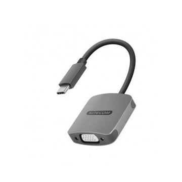 Sitecom CN-374 cavo di interfaccia e adattatore USB-C VGA, USB-C Grigio