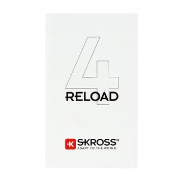 Skross Reload 4 Litio 4000 mAh Bianco