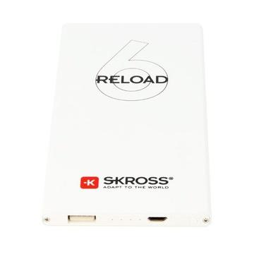 Skross Reload 6 Litio 6000 mAh Bianco