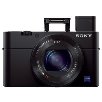 Sony Cybershot DSC-RX100 III Premium Kit + borsa originale LCS-RXGB + hand grip AGR2