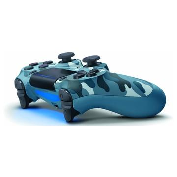 Sony DualShock 4 PS4 Analogico/Digitale Bluetooth Blu, Mimetico