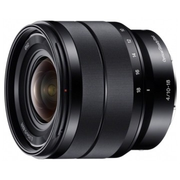Sony SEL 10-18mm f/4.0 E-Mount Nero