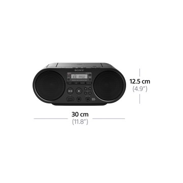 Sony ZS-PS55B nero