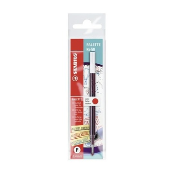 STABILO 268/040-01 ricaricatore di penna Rosso Fine 1 pezzo(i)