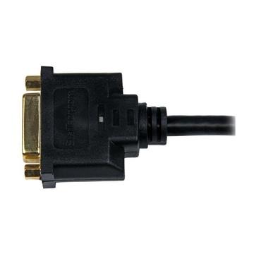 STARTECH Adattatore cavo video HDMI a DVI-D da 20 cm - HDMI maschio a DVI femmina
