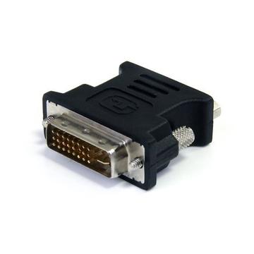 STARTECH Adattatore DVI a VGA - Cavo Convertitore DVI a VGA - Maschio / Femmina - Nero