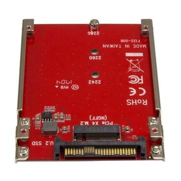 STARTECH Adattatore Host per Drive M.2 a U.2( SFF-8639) PCIe NVMe SSD