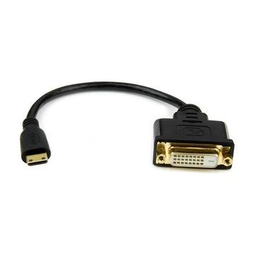 STARTECH Adattatore mini HDMI a DVI-D da 20cm - Maschio/Femmina