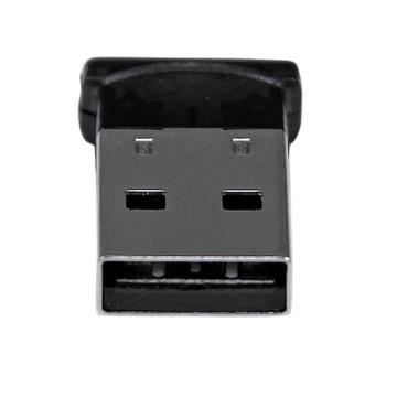 STARTECH Adattatore Mini USB Bluetooth 4.0 - Dongle wireless EDR classe 1 da 50 m