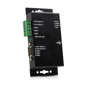 STARTECH Adattatore seriale 1 porta USB a RS-422/RS-485 in metallo per industria con isolamento