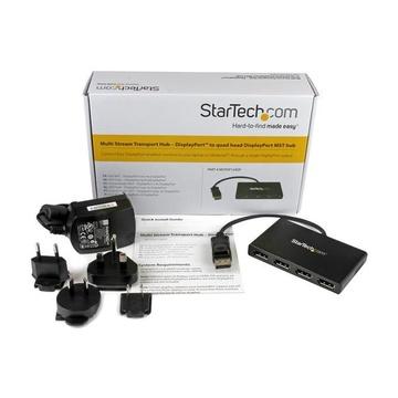 STARTECH Adattatore Splitter MST Hub - DisplayPort a 4 porte DisplayPort