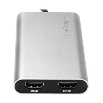 STARTECH Adattatore Thunderbolt 3 a doppio HDMI 4K 60Hz
