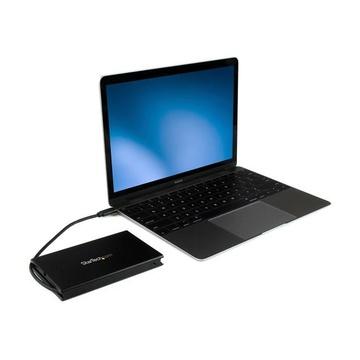STARTECH Box Case Esterno SATA SSD/HDD USB 3.1 (10 Gbps) da 2,5