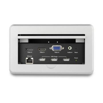 STARTECH Box Connettività A/V Audio Video per sale conferenze - 4K