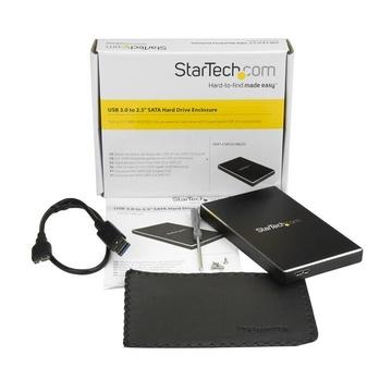 STARTECH Box esterno USB 3.0 per disco rigido SATA o SSD da 2,5