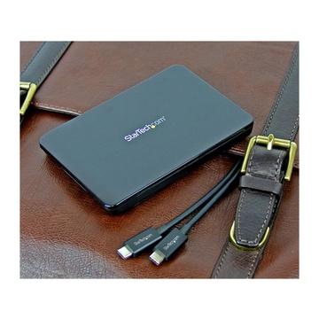 STARTECH Box esterno USB 3.1 (10 Gbps) senza utensili per SSD/HDD 2,5