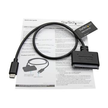 STARTECH Cavo adattatore USB 3.1 a SATA da 10 Gbps per unità dischi rigidi da 2,5