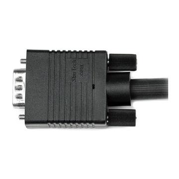 STARTECH Cavo coassiale video VGA monitor alta risoluzione 2 m - HD15 a HD15 M/M