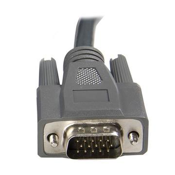 STARTECH KVM ultra-sottile VGA USB 2 in 1 1,8m