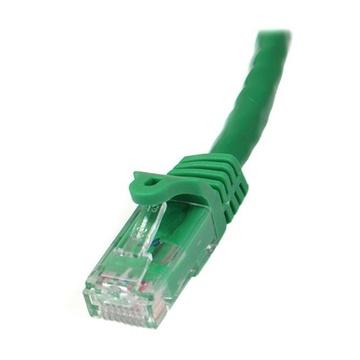 STARTECH Cavo patch CAT6 da 7,5 m - Filo di rame al 100% - Connettore antistrappo - Verde