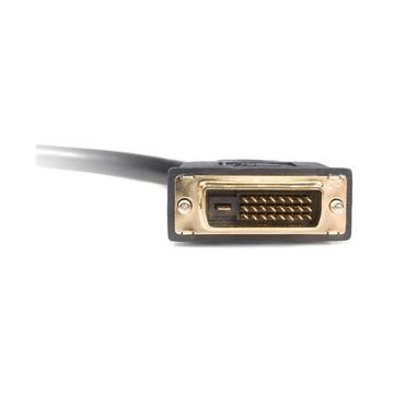 STARTECH Cavo splitter video digitiale DVI-D a 2 DVI-D da 30 cm - M/F