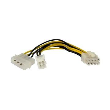 STARTECH Adattatore alimentatore EPS 4 poli a 8 poli con LP4 F/M 15 cm