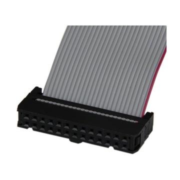 STARTECH m Adattatore cavo collettore porta parallela 40 cm basso profilo con staffa – DB25 (F) a IDC26