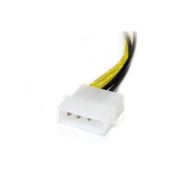 STARTECH Adattatore cavo di alimentazione LP4 a scheda video PCI Express 8 pin da 15 cm