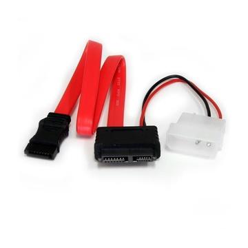 STARTECH Adattatore cavo slimline SATA a SATA e alimentazione LP4 30,5 cm