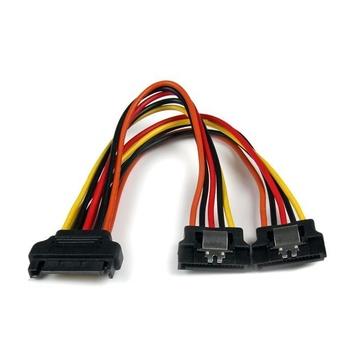 STARTECH Adattatore cavo splitter Y di alimentazione SATA tipo latch 15 cm - M/F