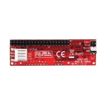 STARTECH Adattatore per dischi rigidi IDE a SATA o lettori ottici - Convertitore PATA a 40 pin a HDD/SSD/ODD SATA da 2,5
