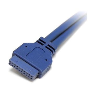 STARTECH Adattatore piastra slot USB 3.0 A femmina 2 porte