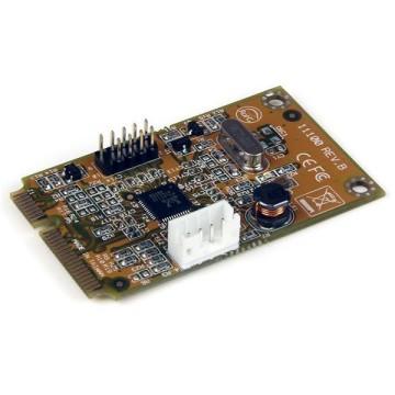STARTECH Adattatore scheda di rete NIC mini PCI Express Gigabit Ethernet