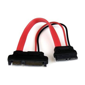 STARTECH Adattatore slimline SATA a SATA con alimentazione 15 cm - F/M