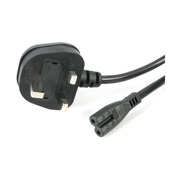STARTECH Cavo di alimentazione per laptop 1 m - 2 slot per GB - Connettore per cavo di alimentazione BS-1363 a C7