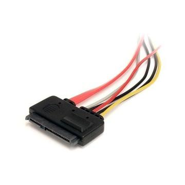 STARTECH Cavo di estensione dati e alimentazione SATA 22 Pin da 30 cm