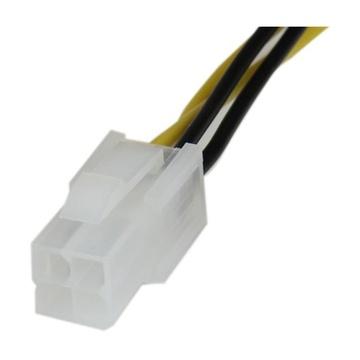 STARTECH Cavo di estensione per alimentatore CPU 4P 8'' ATX12V 4 pin - M/F
