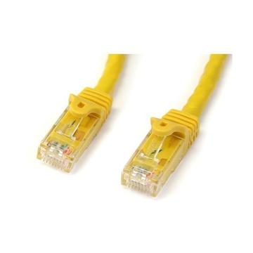 STARTECH Cavo di rete CAT 6 - Cavo Patch Ethernet RJ45 UTP Giallo da 3m antigroviglio