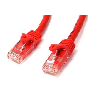 STARTECH Cavo di rete CAT 6 - Cavo Patch Ethernet RJ45 UTP rosso da 5m antigroviglio