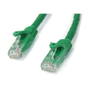 STARTECH Cavo di rete CAT 6 - Cavo Patch Ethernet RJ45 UTP verde da 5m antigroviglio