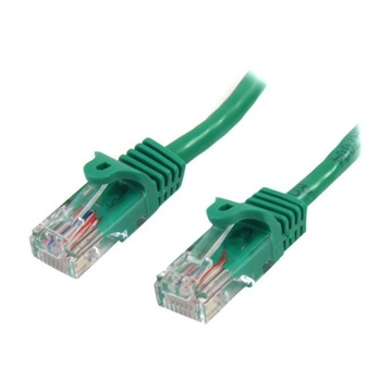 STARTECH Cavo di Rete da 50cm Verde Cat5e Ethernet RJ45 Antigroviglio