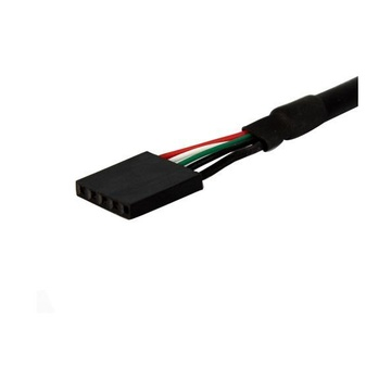 STARTECH Cavo pannello USB 30 cm - Cavo USB A a collettore scheda madre F/F