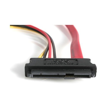 STARTECH Cavo SAS 29 Pin a SATA e alimentazione LP4, 45 cm