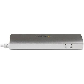 STARTECH Hub USB 3.0 a 3 porte con Adattatore NIC Ethernet Gigabit Gbe