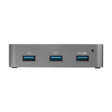 STARTECH Hub USB-C a 4 porte - 10 Gbps - 4 USB-A - Alimentato