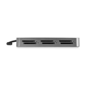 STARTECH Lettore Schede SD a 6 slot Thunderbolt 3 - Portatile
