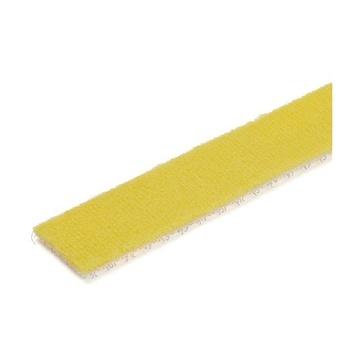 STARTECH Rotolo di nastro con chiusura a strappo da 7,6 m - Giallo