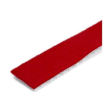 STARTECH Rotolo di nastro con chiusura a strappo da 7,6 m - Rosso