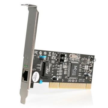 STARTECH Ethernet PCI ad 1 porta - Adattatore PCIe NIC Gigabit Ethernet 10/100/1000 a 32Bit