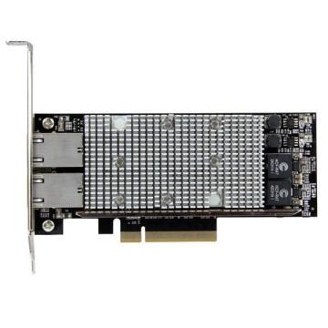STARTECH PCI express a 2 porte 10 Gbase-T Ethernet con Chipset intel X540